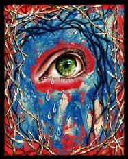 """Maze"" oil on canvas, 24""x30"""